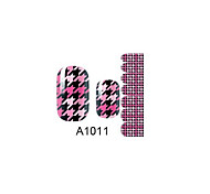 14PCS Nail Art Stickers A Series NO.1011