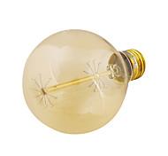 YouOKLight® E27 40W 400lm 3000K Warm White Round Tungsten Edison Filament Bulb Lamp (AC 220-240V)