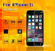 le film 2.5d en acier haut de gamme téléphone film de protection pour 6s iphone / 6