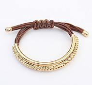 European Style Fashion Metal Hand-woven Bracelet