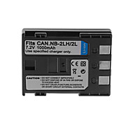 1000mAh Camera Battery Pack for CANON NB-2L/2LH