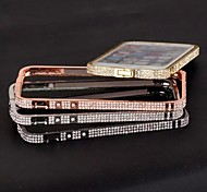 High Quality Shiny Aluminum Luxury Metal Diamond Look Bumper Frame for iPhone 6 Plus(Assorted Colors)
