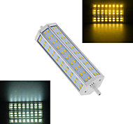 1 pcs R7S 25W 60X SMD 5730 1440LM 2800-3500/6000-6500K Warm White/Cool White Spot Lights AC 220V