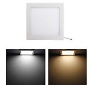 15w 75x2835 SMD 1200ml levou branco frio branco quente luz painel-quadrado (AC85-265V)