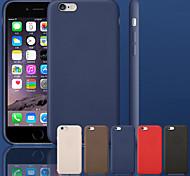 originale en cuir véritable cas de retour de couverture pour iPhone 6 (couleurs assorties)