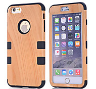 4.7 Inch Wood PC Back Cover for iPhone 6 (Assorted Colors)