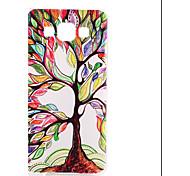caja dura colorida árbol patrón pc para la galaxia a3