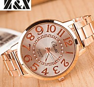 Women's Fashion Diamond Mirror Quartz Analog Steel Belt Watch Cool Watches Unique Watches