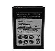 4300mAh Cell Phone Battery for Samsung Galaxy Note III/N9000/N9005 N900A/N900/N9002 N9000