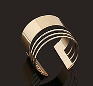 Bracciali Bracciali a polsino Lega N/D Gioielli Regalo Oro,1 pezzo