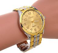 Men's Multicolor Aolly Brand Golden Dial Quartz Watch
