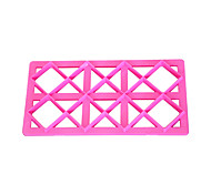 FOUR-C Square Impression Cake Cutters Cookie Cutter for Cakes Fondant Cupcake Decorating Tools Cake Embosser Cutter