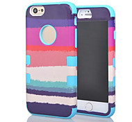 Painted Back Cover for iPhone 6 Plus (Assorted Colors)
