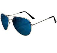 Unisex Anti-reflectante/Resistente al impacto/100% UV400 Aviador Gafas de Sol