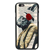 Unique Rabbit Design PC Hard Case for iPhone 6 Plus
