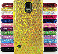 Glitter Powder Design Pattern Cover Hard protection Hard Cover for Samsung Galaxy S5 I9600