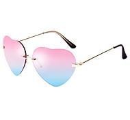 gafas de sol de aviador liansan 100% corazón UV400 modelo de wome