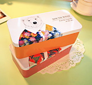 Korean Fashionable Stationery Organizer Box (Random Color)