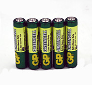 Les batteries de carbone 1.5v aaa GP