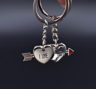 Cupid Exquisite Love Couple Stainless Steel Keychain  (1 Pair)