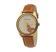 disegno di cristallo di modo femminile di vendita calda quarzo di alta qualità orologi dc-51062