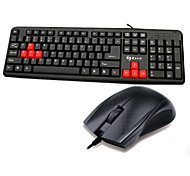 ZERODATE LD801 Keyboard &Mouse Suit for Gaming