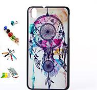 Campanula Muster PC-Material Schale und Touch-Pen Staubstecker Halterungsbaugruppe für HTC Desire 816