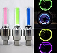 Bicycle Wheel Tire Valve Flashing Light Car Lamp