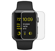 High Transparent Screen Protector with Cleaning Cloth for IWATCH 38mm