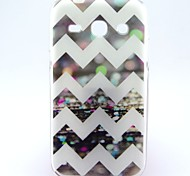 For Samsung Galaxy Case Pattern Case Back Cover Case Lines / Waves TPU Samsung Trend 3