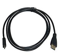 micro HDMI a HDMI cable (1,5 m)