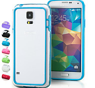 BIG D Transparent Fashion Bumper for Samsung Galaxy S5 I9600