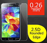 High Quality 2.5D Round Edge 0.26 mm Explosion Proof Tempered Glass Screen Film Protector for Samsung Galaxy S5