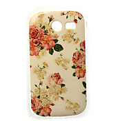 Rose Painting TPU Case for Samsung Galaxy Pocket 2 G110