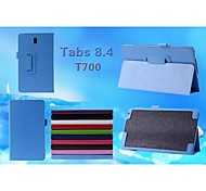 geprägte Superfasermaterial + pu + importiert tpu Material Shell Schutzhülle für Samsung Galaxy Tab s t700