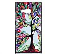Для Кейс для Nokia С узором Кейс для Задняя крышка Кейс для дерево Твердый PC Nokia Nokia Lumia 730