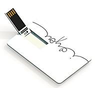 64gb eu te amo projetar unidade flash USB cartão