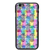 caso duro piña patrón pc para el iphone 6