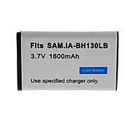 1600mAh bateria da câmera para Samsung SMX-C10, SMX-C20, SMX-C24,