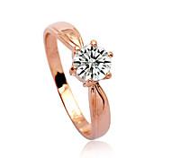 Lureme®Fashion Zircon Ring