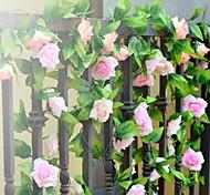 Colores Surtidos - Textil - Flor y Fruta Decorativa -