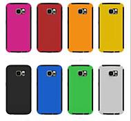 Zwei-in-one ultra dünn Ganzkörper Fälle der rückseitigen Abdeckung für Samsung-Galaxie s6 (farblich sortiert)