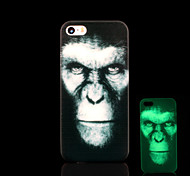 Chimpanzee Pattern Glow in the Dark Cover for iPhone 4 / iPhone 4 S Case
