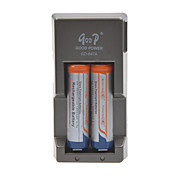Glare Flashlight Batteries  Battery Charger for 18650 Rechargeable Li- ion Battery(Included 2x1800mAh 3.7V Batteries)