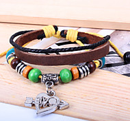 2015 Korean Fashion Jewelry Earth Woven Bracelet