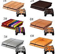 Fantasy Designer Vinyl Skin for Gaming Console and Free Controller Sticker Decal for PS4