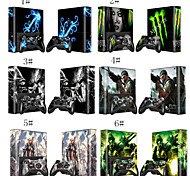Assassin's Creed Decals Skin Sticker for Xbox360 E Console and 2 Controllers