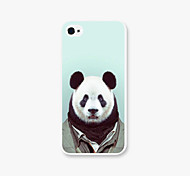 Unifor Panda Pattern PC Phone Case Back Cover Case for Apple iPhone5/5s