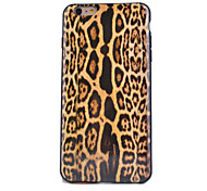 Leopard Pattern Painted Decal New TPU Phone Case for iPhone 6S Plus/6 Plus