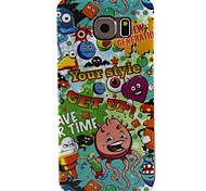 Messy People TPU Back Case for Samsung Galaxy S6